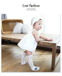 Botas longas de meninos on-line-Nova Moda Bebê Menina Menino Bonito Dos Desenhos Animados Anti-slip Meias Casuais Chinelo Recém-nascido Sapatos Botas 1-3Y Meias Longas