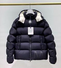 jaqueta zip completo Desconto Luxo Jacket Canadá Inverno Mens Design Abaixo Parka Casacos Big Fur com capuz Canadá para baixo do revestimento do revestimento Tamanho S-XXL