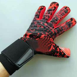 взрослые профессиональные вратарские перчатки мужские футбольные вратарские перчатки без утолщенного пальца охранника supplier soccer football gloves от Поставщики футбольные перчатки