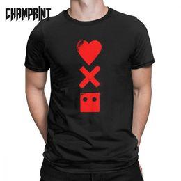 robôs do amor Desconto Homens Amor Morte Robots camisetas 100% roupas de algodão Único de manga curta gola redonda T-shirt T-Shirts Plus Size Verão