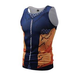 Argentina Naruto 3D imprimir chaleco de los hombres Uzumaki transpirable de secado rápido sudor ropa de fitness de los hombres envío gratis 2018hot venta # 158265 supplier clothes dryer for sale Suministro