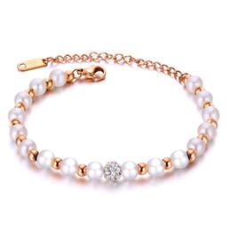 Canada Designer de luxe Bijoux Femmes Bracelets Perle Perles Bracelets Bracelet Chaîne Style Coréen Ornement Accessoires Fille Femme Cadeau D'anniversaire Offre
