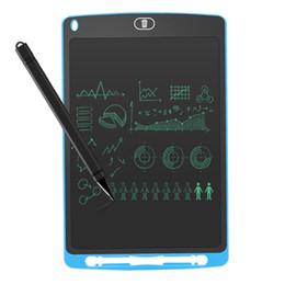 2019 sottile compressa bianca Vendita calda LCD Writing Tablet 10 pollici Digital Writing Board Disegni di disegno portatili per la scuola Kids Home Office I migliori regali