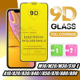 iphone screen pro Coupons - 9D Full Cover Tempered Glass Full Glue 9H Screen Protector for iPhone 11 Pro Max XS XR X 8 7 Samsung S10 E A10 A50 A70 A90 M20 Huawei P30