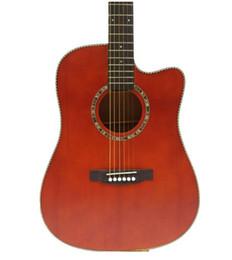 41 pollici abete rosso Sapele impiallacciatura chitarra acustica fingerstyle chitarra principiante per iniziare chitarra spedizione gratuita da pesca varietà fornitori