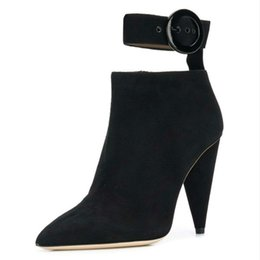 New Stylish High Heel Shoes Promo Codes 2019 New Spring Autumn Spike High Heels Ankle Find Similar