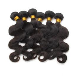 Tece cabelo humano onda do corpo brasileiro Cabelo Weaves 8A Melhor Virgin Qualidade extensões do cabelo humano peruano Malásia indiana cambojano brasileiros de