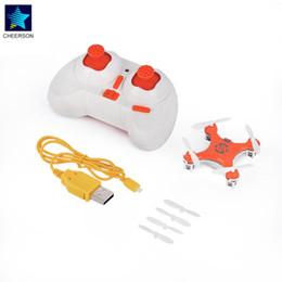 радиоуправляемый игрушечный вертолет Скидка CX-10 Orange Mini RC helicopters Radio Control Aircraft Headless Mode Drone Quadcopter for Cheerson 2.4G 4CH 6Axis RC Model Toys