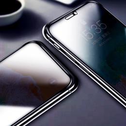 blendschutz-bildschirm Rabatt 10D Anti-Spy Hartglas Displayschutzfolien für iPhone 6 6s 7 8 Plus X Xs Max XR Blendschutz Anti-Peeping Anti-Explosion Hochwertige
