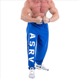 2020 läufer kleidung Männer Jogger Patchwork Pants Men Fitness Bodybuilding Hosen Runners Bekleidung Jogginghose Hose HombreM - Größe XXL günstig läufer kleidung