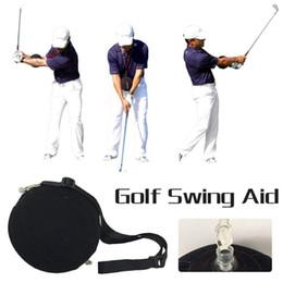 2019 golfschwungs haltung Großhandel Golf Trainingshilfen Werkzeuge Golf Smart Impact Ball Golfschwung Trainer Ball Mit Smart aufblasbaren Assist Posture Correction TOOL rabatt golfschwungs haltung