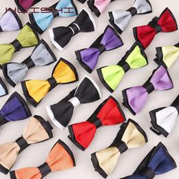 2019 ночные галстуки-бабочки HUISHI Классический Neckwear Boy Боути Kid Костюм Детская Мода Solid Color Регулируемая Bow Tie Мальчик Девочка Two Tone Pet Dog Cat Боути