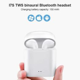 Mais barato i7s tws fones de ouvido sem fio ao ar livre fones de ouvido bluetooth intra-auriculares para iphone samsung huawei ginásio treino de