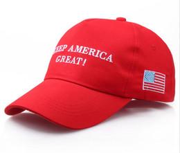 2019 поддержка доставки Новый Keep America Great Hat Дональд Трамп Шляпы Мага Трамп Поддержка Бейсболки Спорт Бейсболки Красный 50 шт. Бесплатный корабль дешево поддержка доставки
