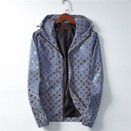 куртка Скидка Франция Мужские дизайнерские куртки Marque de Luxe Письмо с вышивкой мужские пальто Длинный срез Высококачественная куртка класса люкс Куртка-ветровка с капюшоном