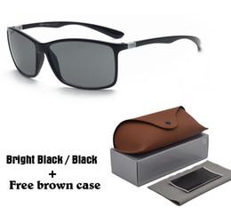 5b6039f222 Diseño de marca Nueva versión superior Gafas de sol TR90 Montura UV400  Lente Deportes Gafas de sol Moda Tendencia Gafas Gafas con estuches y  estuches