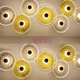designer di illuminazione contemporanea Sconti bar moderno contratta e lampada da parete combinazione giapponese contemporanea in vetro camera da letto individualità lighting designer