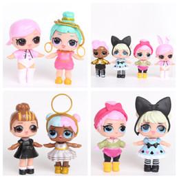 2019 modelos de mesa Boneca dos desenhos animados 9CM modelo bonito dos desenhos animados boneca de decoração para casa mesa para brinquedos infantis boneca infantil T2G5023 modelos de mesa barato