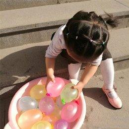 2019 ballons spiele Outdoor Wasserballon Spielzeug Amazing Magic Wasserballons Bomben Spielzeug für Kinder Kinder Sommer Strand Wasser Sprinking Ballons Spiele Kinderspielzeug günstig ballons spiele