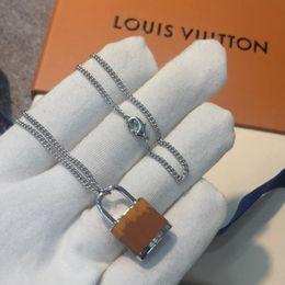 Gold tiger anhänger online-LOCKIT Anhänger, Weißgold, Chalcedon und Diamanten Tigerauge Stein Vorhängeschloss Charme vereist Ketten Halskette Schmuck Designer Halskette