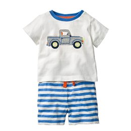 5fa2823a9 China Boys Clothing Sets INS Hot Sale Baby Boy Clothes Designer Children Summer  Clothing Sets for