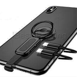Otg apple on-line-Iluminação Dual Adaptador Titular Anel de Carregador De Áudio Ajustar Titular Do Telefone de Carregamento Rápido Para OTG iPhone Adaptador OTG