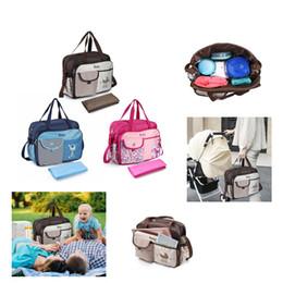 Sacchetti di pannolini di alta qualità online-1pcs nuovi sacchetti di pannolini multifunzionali borsa madre maternità di alta qualità borse fiore stile mamma borsa passeggino
