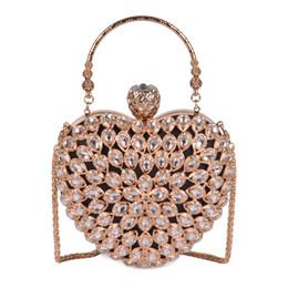 Borse da sposa perla online-Pochette da sera da donna rosa sugao Splendida Perla di cristallo Perline da sposa Borse da festa da sposa Borse Crossbody Borse da viaggio Borsa a mano