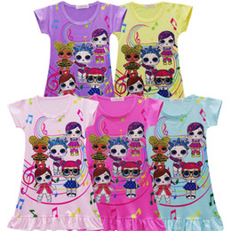 Новые девушки детские дизайнерские платья большие дети европейский и американский стиль юбка с коротким рукавом дети юбка с коротким рукавом от