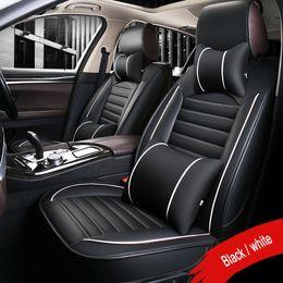 Accessori per rav4 online-Coprisedili per auto per Toyota RAV4 PRADO Highlander COROLLA Camry Prius Reiz CROWN Protezione impermeabile accessori per auto styling