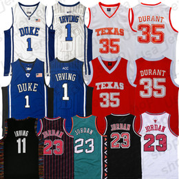 tracy mcgrady jersey Sconti Maglia NCAA Irving Duke Kevin 7 Durant Texas D'Angelo 1 Russell Vince 15 Carter Tracy 1 Maglia da basket Mcgrady