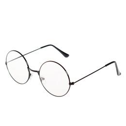 4c0a95539 molduras vintage para nerd Desconto Moda Vintage Retro Armação de Metal Óculos  de Lente Clara Nerd