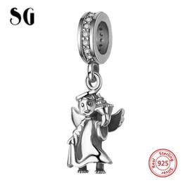 2020 gioielli custode SG stilista fascino collana di Natale in argento 925 originali per il braccialetto gioielli angelo custode pendente di fascino rendendo 2020 gioielli custode economici