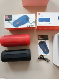 altavoces de coche de audio de cristal Rebajas Altavoz Bluetooth a prueba de agua Inalámbrico Bluetooth Carga 2+ Subwoofer profundo Altavoces portátiles estéreo con caja de venta al por menor para carga JBL 2