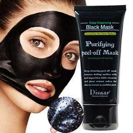maschera di seta ialuronica Sconti Maschera viso idratante rimovibile per la rimozione dei punti neri Maschera per la pulizia del viso in bambù per la pulizia profonda Maschera per il viso nera staccabile RRA1974