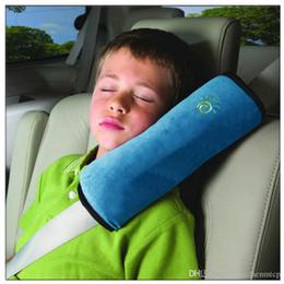 2019 carro de criança 5 cor car styling Acessórios Criança Crianças kid protector Car Auto Cinto de segurança Cinto de segurança Capa de Almofada de Ombro Harness travesseiro Macio desconto carro de criança