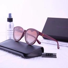 дизайнер в форме сердца солнцезащитные очки Скидка Модные женские солнцезащитные очки класса люкс Солнцезащитные очки Стильные в форме сердца солнцезащитные очки для дизайна Мужские женские стекла UV400 5 цветов в стиле Y81