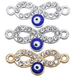 c96d85104c1c 50 unids   lote 23   10   2mm Blue Evil Eye Metal Charms Collar Pulsera  Conectores Para La Joyería Diy Fabricación de Accesorios de fábrica al por  mayor ...