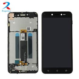 2020 asus frame Per Asus ZenFone Live ZB501KL Touch Screen Digitizer Sensor Panel Vetro + Display LCD Panel Monitor Assemblea Frame asus frame economici