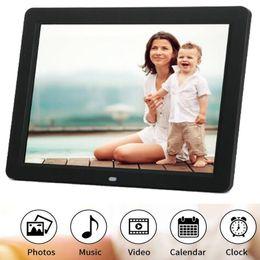 """Цифровая фоторамка 10,2 """"HD TFT-LCD 1024 * 600 Цифровая фоторамка Будильник MP3 MP4 Movie Player от Поставщики детские товары"""