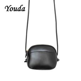 2019 bolsas de estilo s Youda Color Sólido Estilo Simple Bolsa de Teléfono Móvil para Mujer Moda Vintage Bolso Bandolera de Corea Retro Bolsos de Mensajero de la mujer bolsas de estilo s baratos