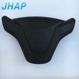 Canada Couverture d'airbag de coussin gonflable de volant avec l'emblème pour la couverture de coussin gonflable de conducteur de voiture SRS de Chevrolet cheap chevrolet emblem Offre