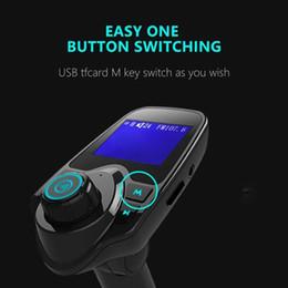 синус автомобиля Скидка Новый T11 Wireless Car Kit FM-передатчик с 3,5 мм AUX радио адаптер MP3 USB зарядное устройство Встроенная карта Mic Поддержка TF