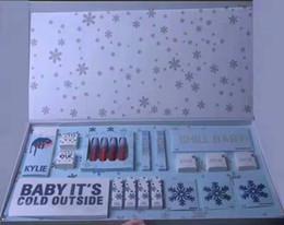 paleta de vacaciones Rebajas 2018 Nuevos conjuntos de maquillaje La colección de vacaciones Lápiz labial líquido mate kit Eyeshadow Palette Gloss Highlighter Kit de regalo de Navidad envío de DHL