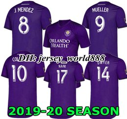 9dc482823 Discount orlando city jerseys - PLAYER VERSION NANI 19 20 ORLANDO CITY Home  Soccer Jersey 2019