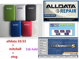 2019 ordinateurs portables notés 2019 Meilleure qualité Alldata 10.53 + mitchellondemand 2015 + atsg + Toutes les données 3 en 1tb disque dur usb 3.0 livraison gratuite