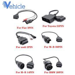 2019 mahindra carro obd2 scanner Para a MB FIAT Old Car Diagnóstico cabo adaptador 16pin OBD2 OBDII Scanner