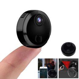 caméra cachée de vision nocturne sans fil Promotion Nouvelle caméra espion sans fil WiFi HD 1080P cachée Home Security DVR Night Vision Nouvelle mode mini caméra cachée