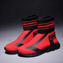 chaussures haut de gamme femme Promotion Dolce & Gabbana chaussettes gamme hommes de et chaussures de sport de femmes nouvelles chaussures de course femmes de la mode chaussettes de marque chaussures de marque -1