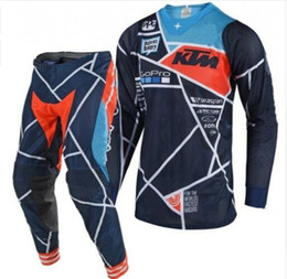 combinaison d'équipement Promotion 2018 Nouveau SE Air Metric Design Rouge Motocross Racing Sets Ensembles de moto hors route Combos XC DH VTT Go Pro Moto Racing Suit